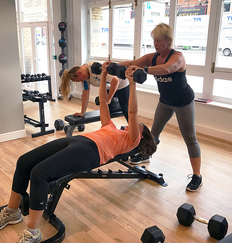 small group personal training with a personal trainer at Fit Friends, Loughborough